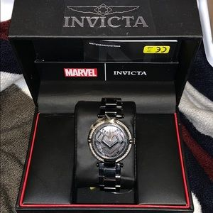 Invicta black panther men's watch limited edition